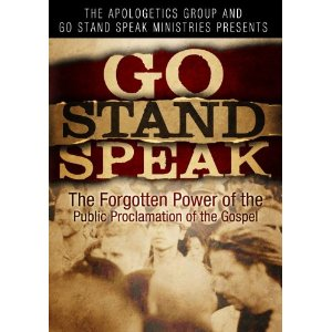 Go Stand Speak DVD cover