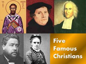 5 famous christians
