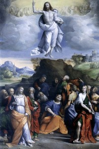 Ascension of Christ by Garofalo