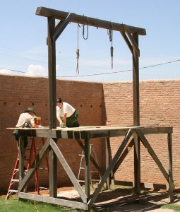 building gallows